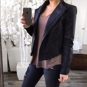 EkAttire Faux Leather Jacket